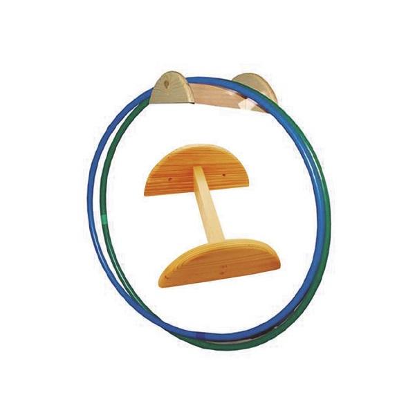 Suport fusta per a cèrcols/cordes