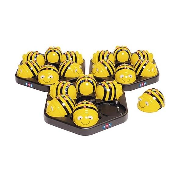 BEE-BOT CON BASE DE CARGA GRATUITA PARA 6 U.