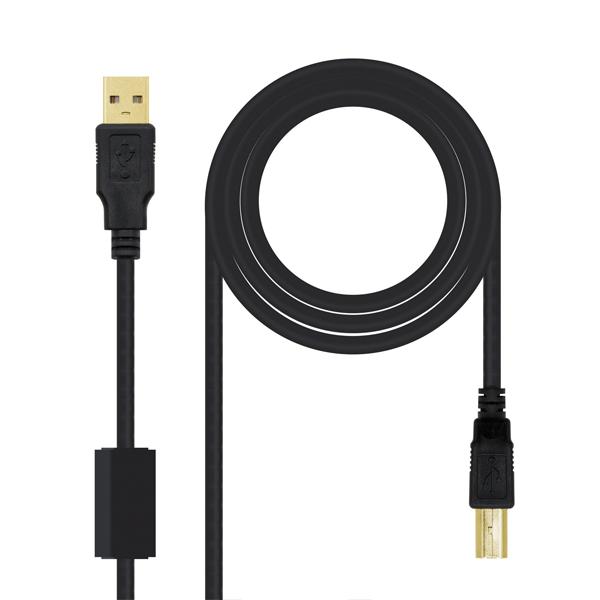 CABLES USB A-B MASCLE-MASCLE