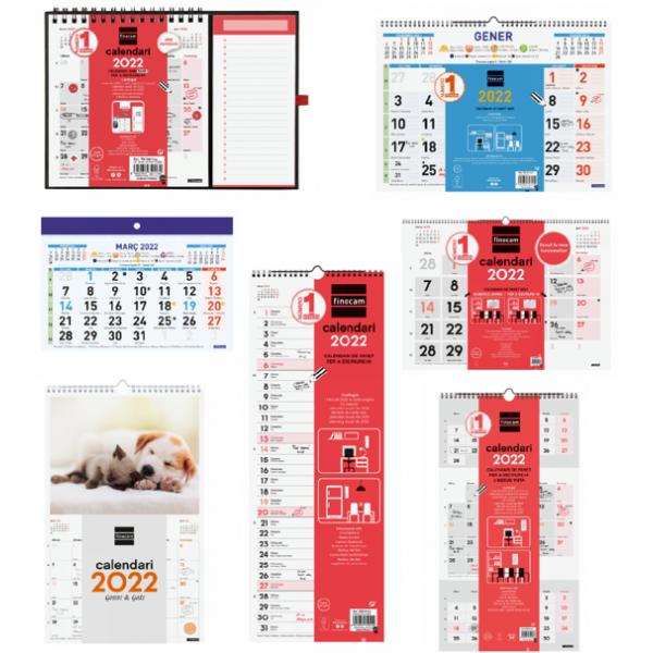 Calendaris Anuals Paret