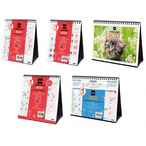Calendaris Anuals Sobretaula